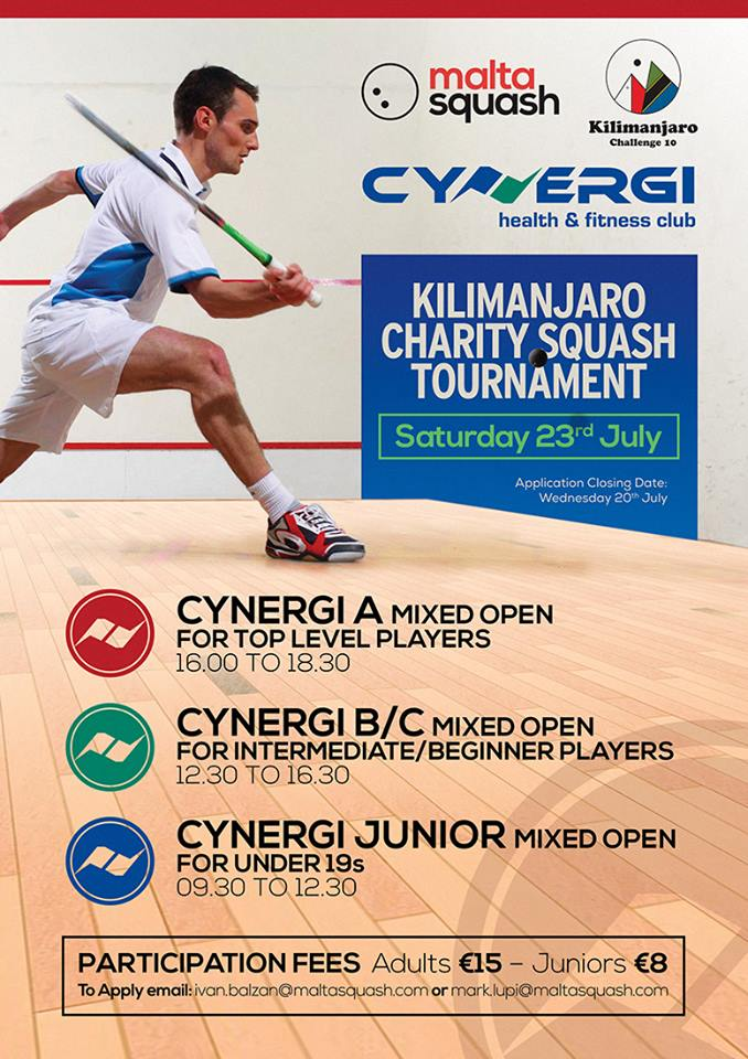 Kilimanjaro Charity Squash Tournament