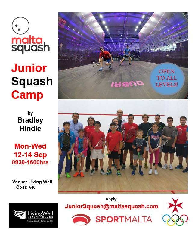Junior Squash Camp